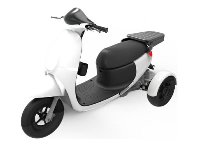 泓創綠能ZAU ES-3000智慧電動三輪載具