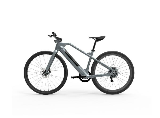 ZAU EB-700金屬灰 E Bike